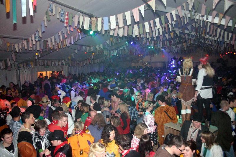 Nachtumzug Zelt Jubiläum 2011