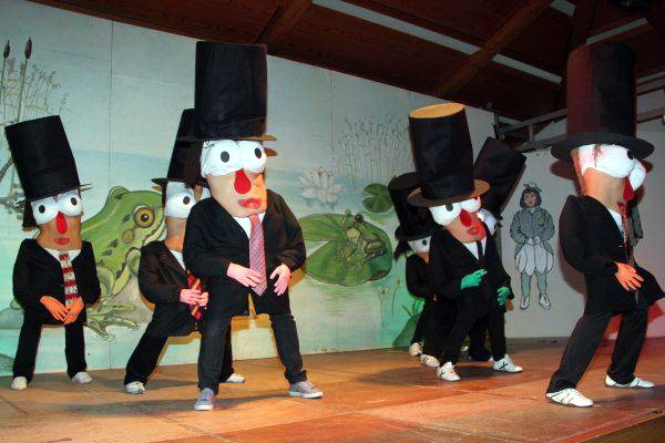Tanz der Frösche