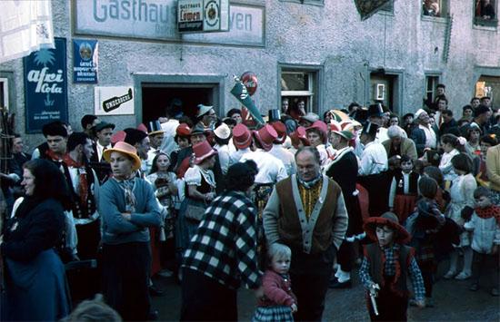 Fastnacht am Löwen 1961